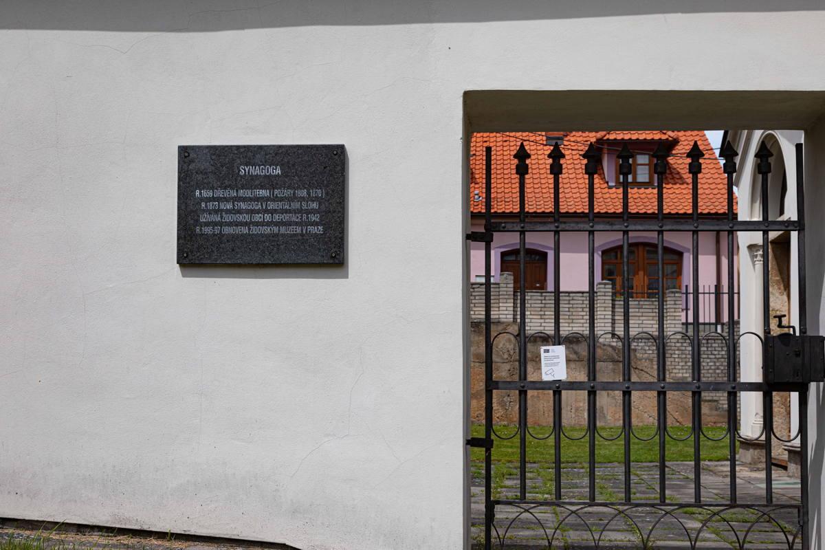 now a storage facility for Prague Jewish Museum