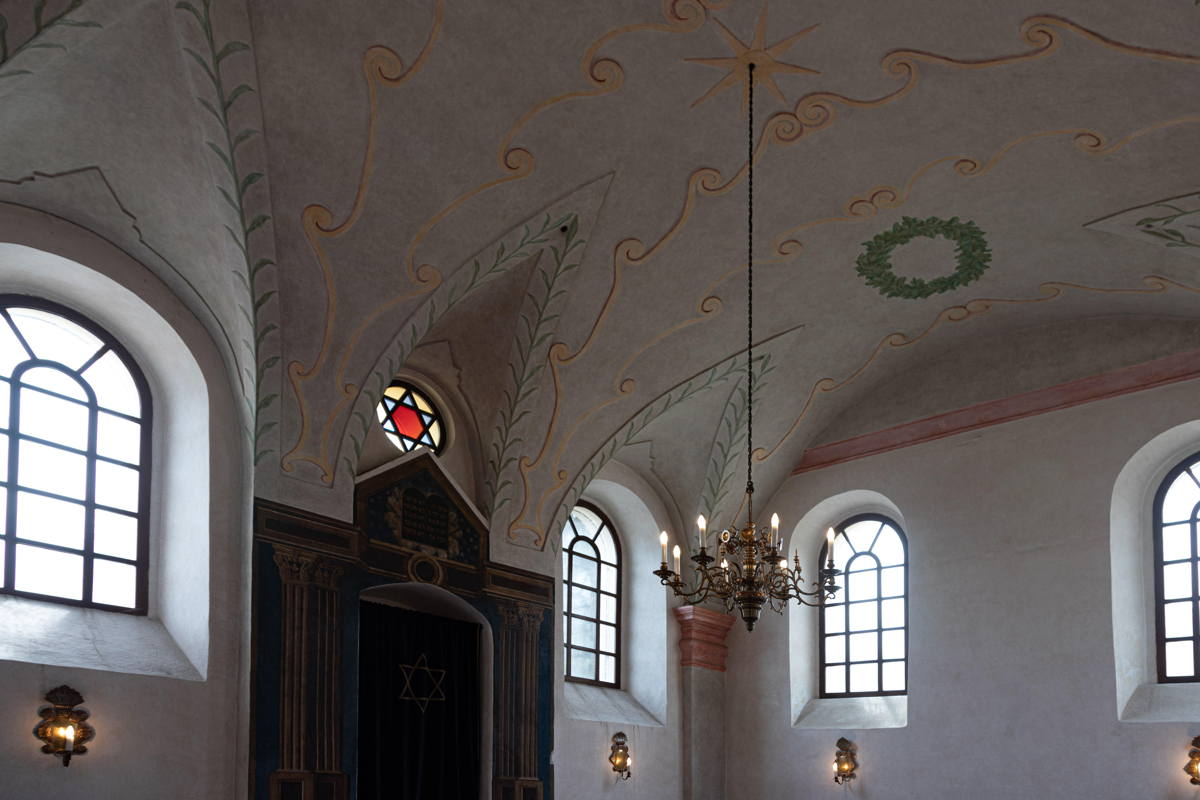 restored ceiling