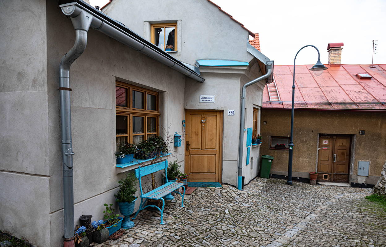 now home of Jewish woman who wants to revive Jewish life in Polná