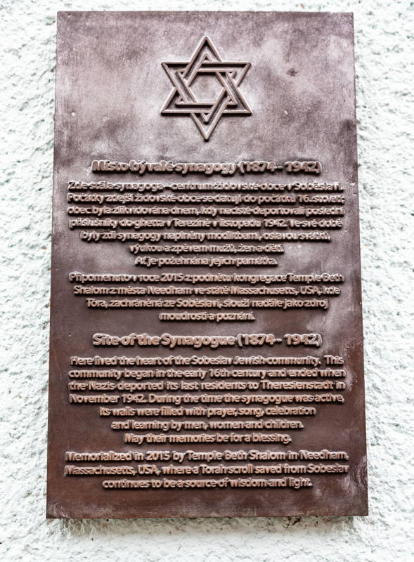 former synagogue location