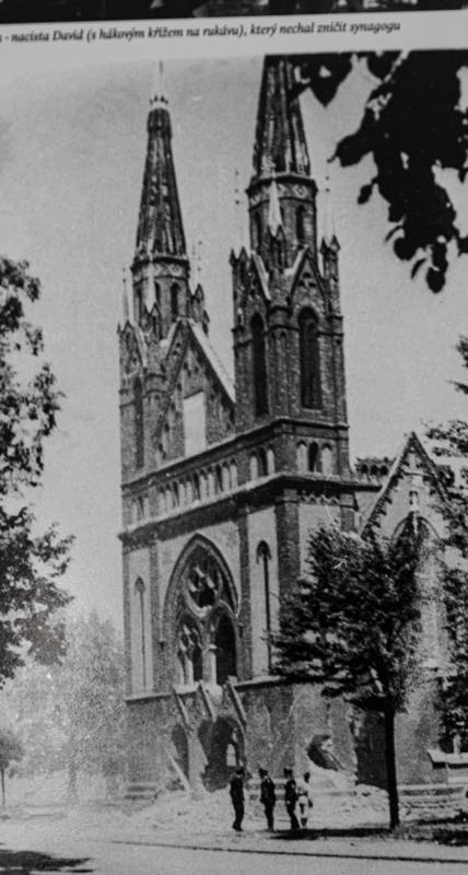 Nazis destroyed synagogue