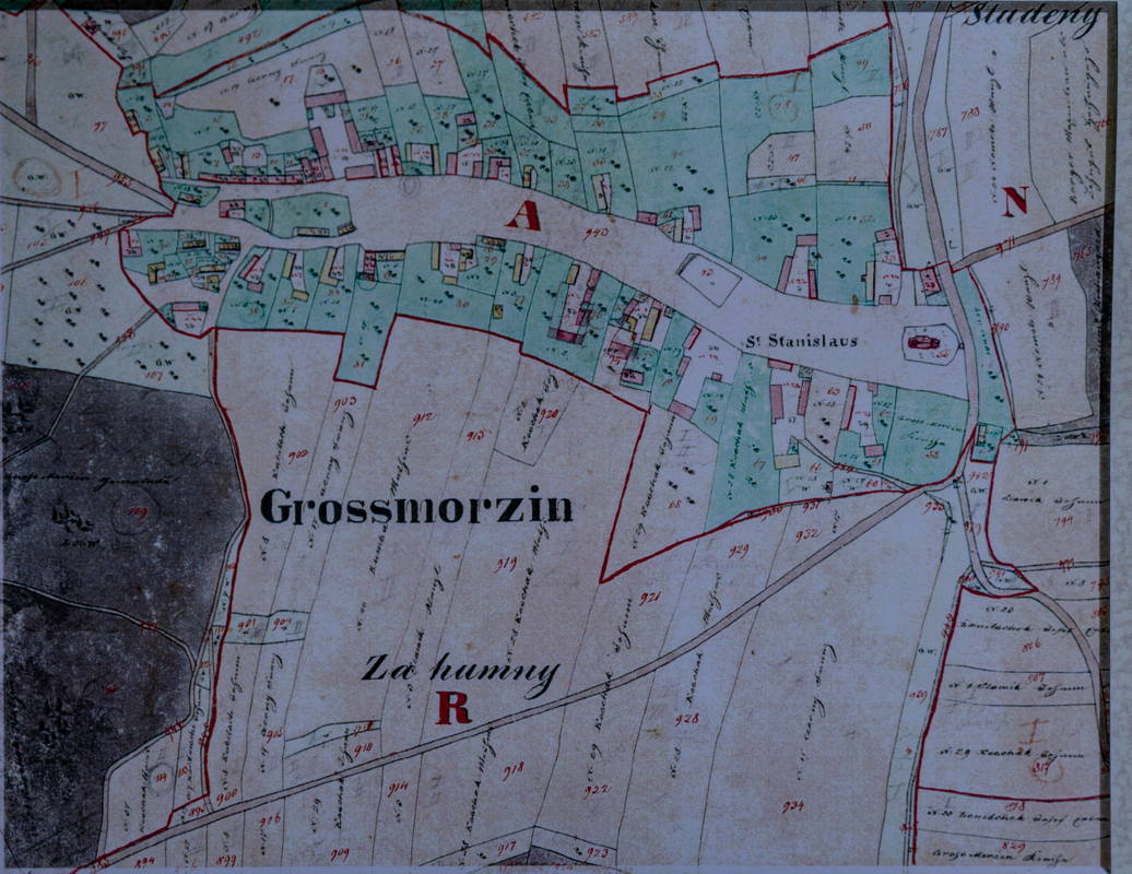 old map shared by deputy mayor
