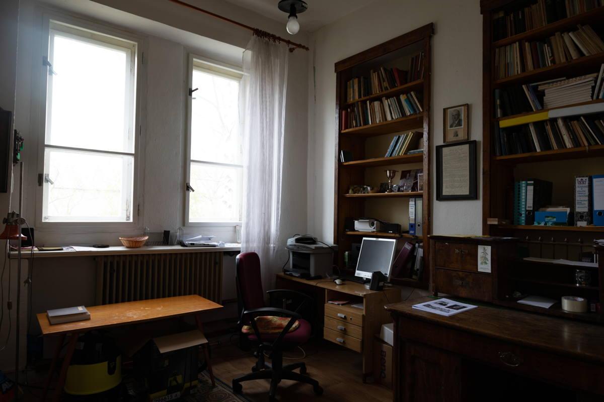rabbi's study
