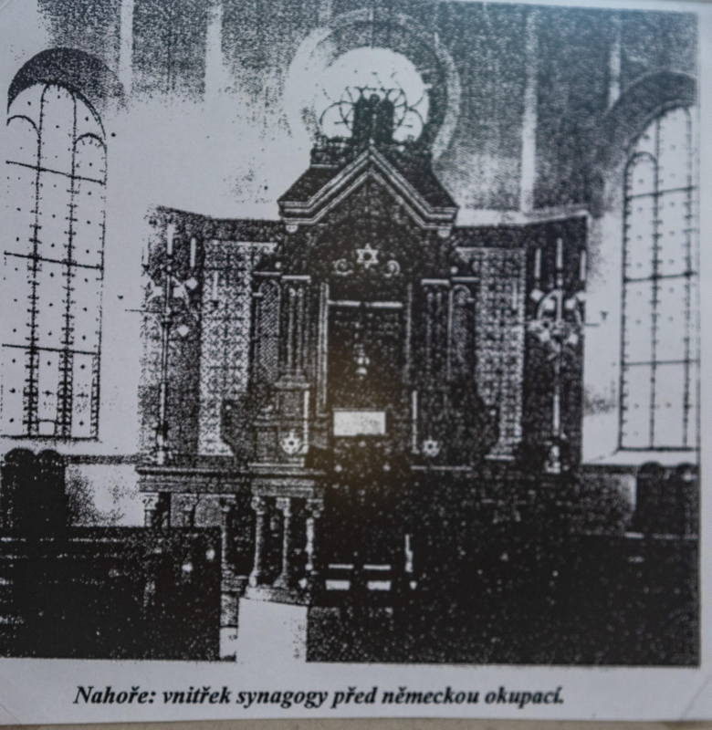 photo of original sanctuary supplied by town archivist