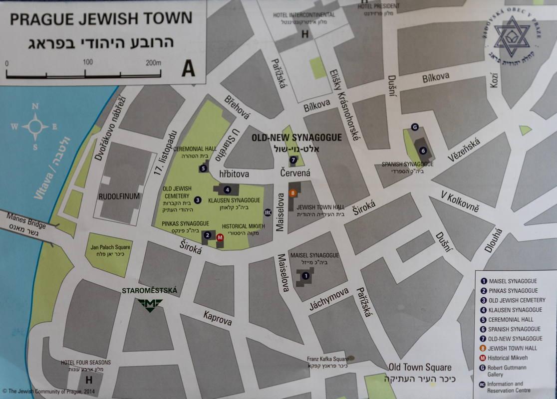 map of Jewish Quarter