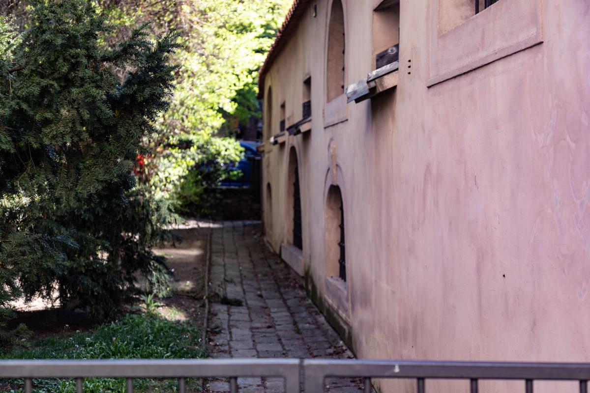 alley in Jewish Quarter