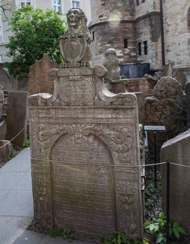 Hendl Basevi 's grave