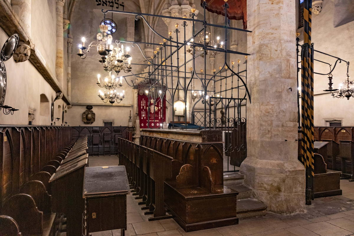 sanctuary in continuous use since the 13th century. Still active.