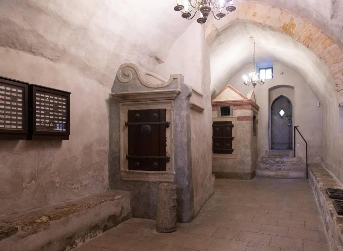 centuries old hallway