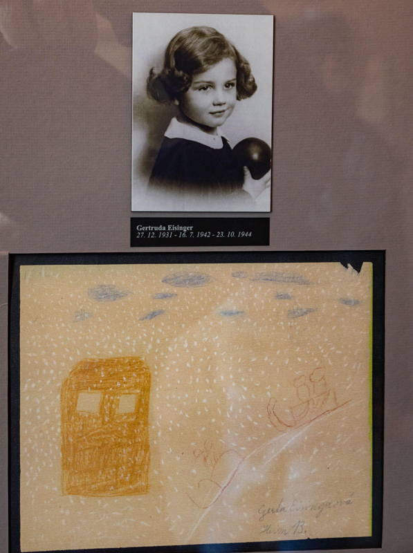 children's drawings from Terezin
