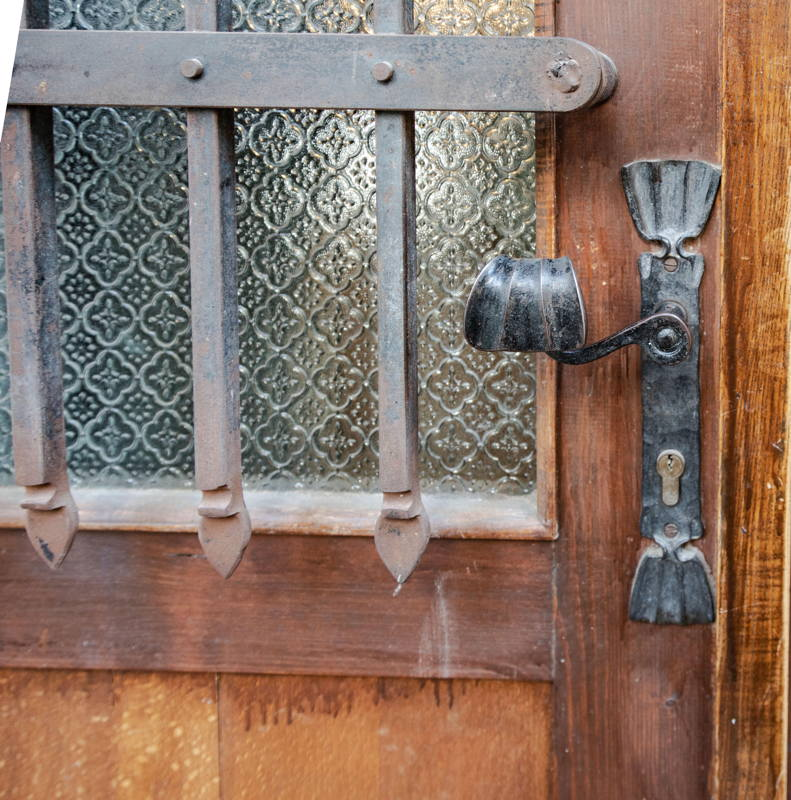 replica of original door handle