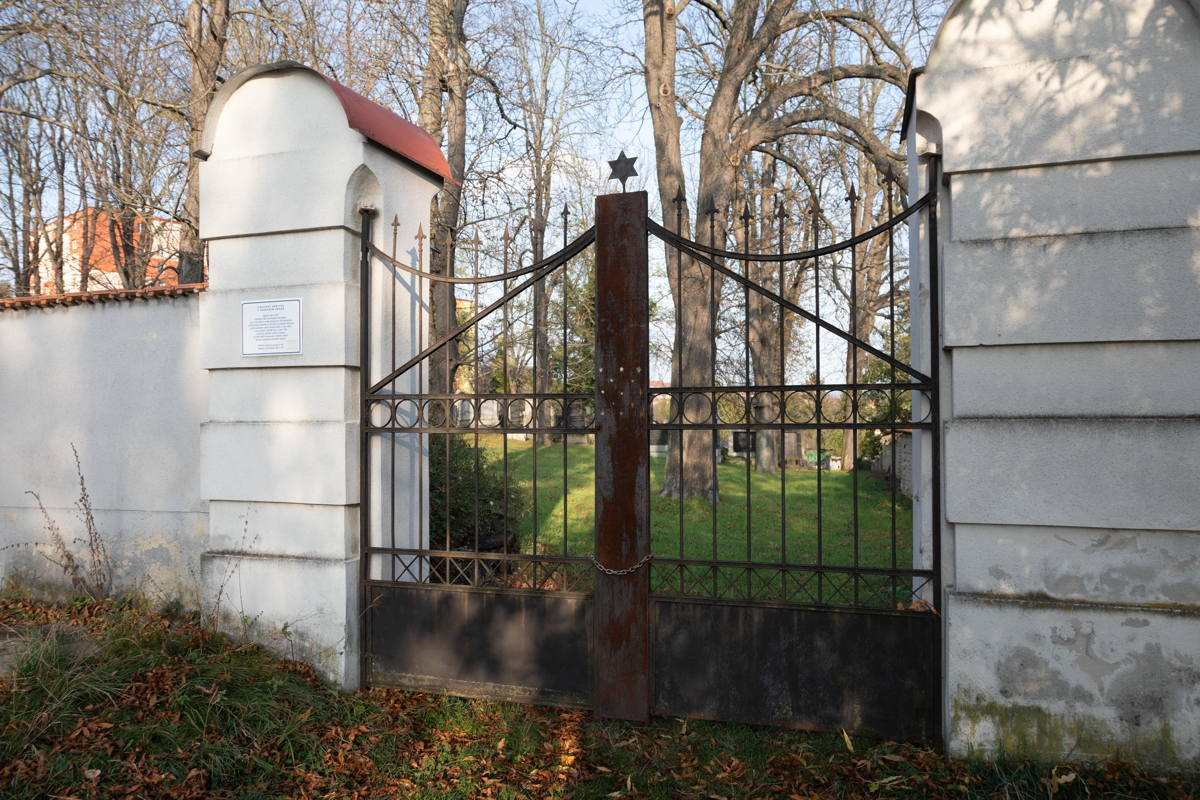 gate to the cemetery
